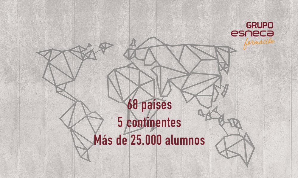 La formación online de Grupo Esneca llega a 68 países