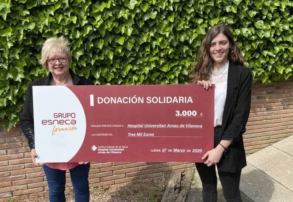 Grupo Esneca contribuye a frenar el avance del coronavirus