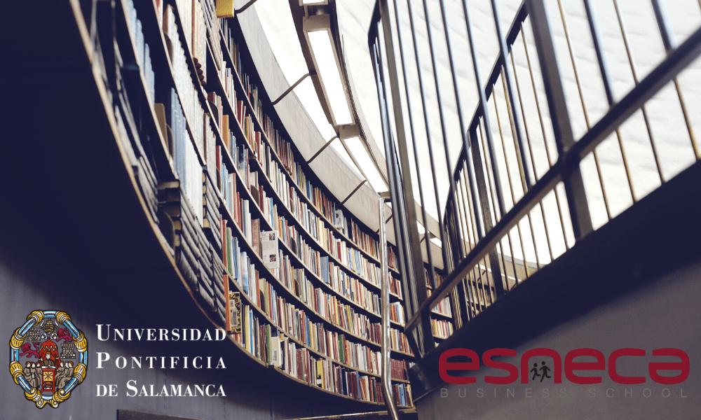 Esneca firma acuerdo de colaboración con la Universidad Pontificia de Salamanca