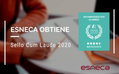 Esneca Latinoamérica obtiene el Sello Cum Laude 2020